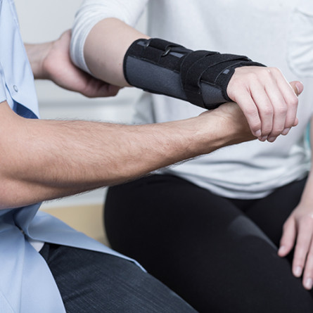 Image for Sports Hand Injury Rehabilitation