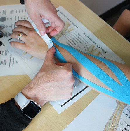 Image for Hand Kinesio Taping