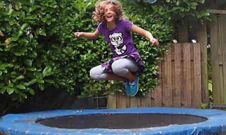 Image for post Trampoline Safety